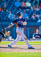 1 March 2017: Houston Astros outfielder Derek Fisher in Spring Training action against the Miami Marlins at the Ballpark of the Palm Beaches in West Palm Beach, Florida. The Marlins defeated the Astros 9-5 in Grapefruit League play. Mandatory Credit: Ed Wolfstein Photo *** RAW (NEF) Image File Available ***