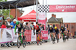 Pix: Shaun Flannery/shaunflanneryphotography.com<br /> <br /> COPYRIGHT PICTURE>>SHAUN FLANNERY>01302-570814>>07778315553>><br /> <br /> 19th June 2016<br /> Doncaster Cycle Festival 2016<br /> Whinfrey Briggs Elite Men's Race<br /> Sponsored by Whinfrey Briggs