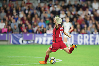 Orlando, FL - Wednesday March 07, 2018: Megan Rapinoe during the She Believes Final Cup Match featuring USA Women's National Team vs. Englands Women's National Team
