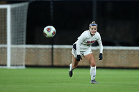 CHAPEL HILL, NC - NOVEMBER 16: Grace Parsons #9 of Belmont University chases the ball during a game between Belmont and North Carolina at UNC Soccer and Lacrosse Stadium on November 16, 2019 in Chapel Hill, North Carolina.