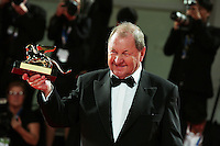Venice, Italy - September 06: Roy Andersson wins the Gold Lion of  the 71st Venice Film Festival at Palazzo Del Cinema on September 06, 2014 in Venice, Italy. (Photo by Mark Cape/Inside Foto)<br /> Venezia, Italy - September 06: Roy Andersson vincitore del Leone D'Oro al Palazzo Del Cinema, durante del 71st Venice Film Festival. Settenbre 06, 2014 Venezia, Italia. (Photo by Mark Cape/Inside Foto)