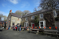 Pictured: Cresselly Arms pub in Cresswell Quay, Pembrokeshire, Wales, UK. Thursday 16 March 2017<br /> Re: A racehorse owned by a syndicate from Pembrokeshire which was a favourite to win at this year's Cheltenham Festival, has lost.<br /> Tobefair, a seven-year-old gelding, has won his last seven races.<br /> He was gifted as a colt to Michael Cole three years ago, in return for looking after two fillies on his farm.<br /> Unable to afford the training costs on his own, he decided to offer 50% of the ownership to people he knew through his local pub, the Cresselly Arms at Cresswell Quay Quay.<br /> The syndicate grew to 17 members but none except Mr Cole had owned a racehorse before.<br /> They said they were amazed when Tobefair started winning races and never dreamed he would make it to Cheltenham.