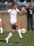Douglas and Carson girls soccer action in Minden, Nev., on Friday, Oct. 10, 2014. Douglas won 2-1.<br /> Photo by Cathleen Allison