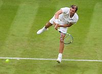 22-6-09, England, London, Wimbledon, Benneteau