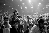 Parti Quebecois election night, April 13, 1981.<br /> <br /> They got elected for a second term