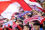 Atletico de Madrid's supporters during Champions League 2015/2016 Semi-Finals 1st leg match. April 27,2016. (ALTERPHOTOS/Acero)