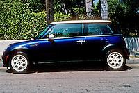 Car: Mini Cooper by BMW, year 2000.