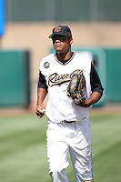 Michael Taylor, Sacramento RiverCats against the Reno Aces at Raley Field, Sacramento, CA - 04/18/2010.Photo by:  Bill Mitchell/Four Seam Images.