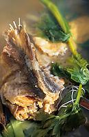 Europe/France/Auvergne/12/Aveyron: Cuisson du stockfish ou estofinade ou estofinado