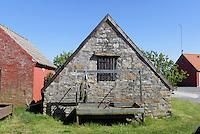 Fischerhütte in Snogebæk auf der Insel Bornholm, Dänemark, Europa<br /> fisherman's hut in Snogebaek, Isle of Bornholm Denmark