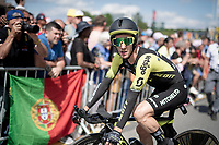 Adam Yates (GBR/Mitchelton-Scott) after finishing the TTT<br /> <br /> Stage 2 (TTT): Brussels to Brussels(BEL/28km) <br /> 106th Tour de France 2019 (2.UWT)<br /> <br /> ©kramon