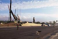 Cuba, Plaza de la Revolucion  in Santiago de Cuba