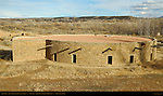 Great Kiva, West Ruin Anasazi Hisatsinom Chacoan Complex, Aztec Ruins National Monument, Aztec, New Mexico