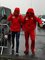 8th October 2020, Nuerburgring, Nuerburg, Germany; FIA Formula 1 Eifel Grand Prix Free Practise is cancelled due to heavy fog and lack of medical security services;  Charles Leclerc MCO 16, Scuderia Ferrari