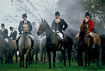 Foxhunting THE DUKE OF BEAUFORT HUNT Gloucestershire 1980s