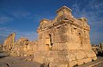 Jordan, Jerash. A podium at the South Tetrakionia&#xA;<br />