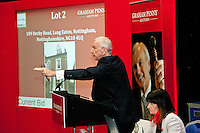 Graham Penny does his 'Homes Under the Hammer' thing