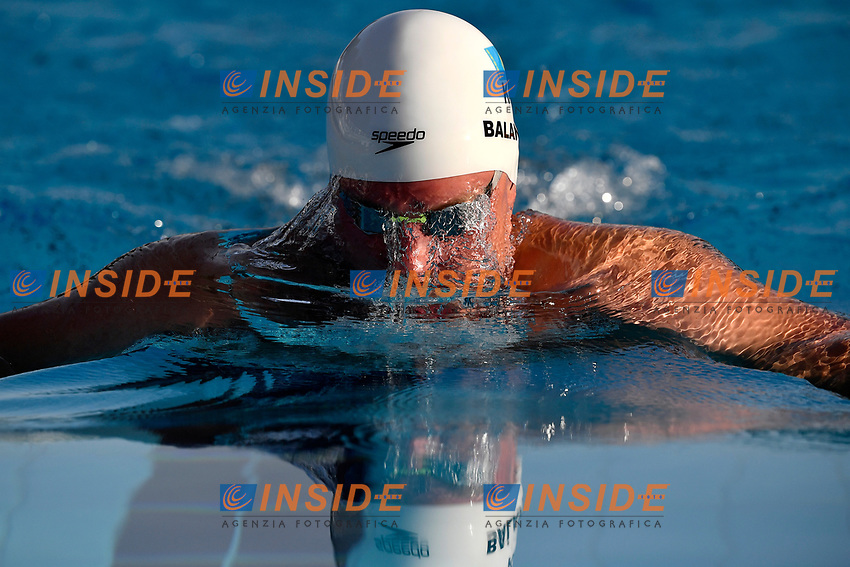 Dmitriy Balandin of Kazakhstan competes in the men 200m breaststroke during the 58th Sette Colli Trophy International Swimming Championships at Foro Italico in Rome, June 27th, 2021. Dmitriy Balandin placed third.<br /> Photo Andrea Staccioli / Deepbluemedia / Insidefoto