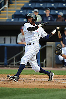 Staten Island Yankees infielder Jamiel Orozco (2) during game against the Hudson Valley Renegades at Richmond County Bank Ballpark at St.George on June 24, 2012 in Staten Island, NY.  Staten Island defeated Hudson Valley 9-1.  Tomasso DeRosa/Four Seam Images