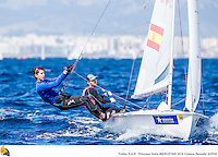 47 Trofeo Princesa Sofia IBEROSTAR, bay of Palma, Mallorca, Spain, takes<br />