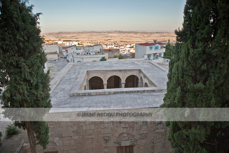 The Basilica in Le Kef, Tunisia, has been frequented by Muslims for worship for hundreds of years.  Le Kef is the unofficial capital of Western Tunisia.