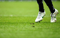 Nike boot detail of Antonio Valencia of Manchester United