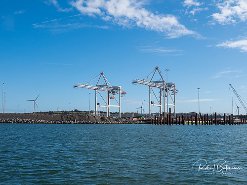 Post Panamax Port of Cork Cranes