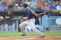 Jeremy Hazelbaker during a game against the Asheville Tourists at McCormick Field Asheville, NC August 12, 2010. Asheville won the game 7-2.