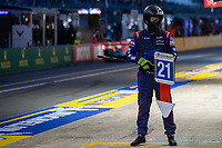 #21 Dragonspeed USA Oreca 07 - Gibson LMP2,Car controller, 24 Hours of Le Mans , Race, Circuit des 24 Heures, Le Mans, Pays da Loire, France
