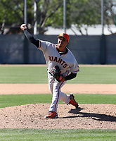 Jorge Labrador - San Francisco Giants 2019 spring training (Bill Mitchell)