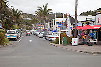 Street Scene, Town Center, Paihia, north island, New Zealand.