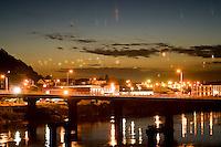 Greymouth at night - West Coast, New Zealand