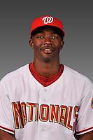 14 March 2008: ..Portrait of Sheldon Fulse, Washington Nationals Minor League player at Spring Training Camp 2008..Mandatory Photo Credit: Ed Wolfstein Photo