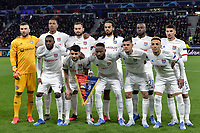 Lyon team line up <br /> Lyon 26/02/2020 OL Stadium Decines <br /> Football Champions League 2019//2020 <br /> Round of 16 1st Leg <br /> Olympique Lionnais Lyon - Juventus <br /> Photo Fredric Chambert/Panoramic/Insidefoto