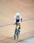 MILTON, ON, AUGUST 11, 2015. Cycling at the Velodrome. Canadian Mike Sametz (C-3M) wins a silver medal in Men's IndividuL Pursuit<br /> Photo: Dan Galbraith/Canadian Paralympic Committee