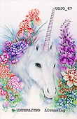 Marie, REALISTIC ANIMALS, REALISTISCHE TIERE, ANIMALES REALISTICOS, paintings+++++,USJO67,#A# ,Joan Marie unicorn