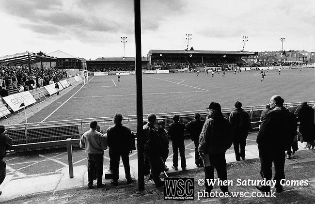 Underhill, former home of Barnet FC. Photo by Tony Davis