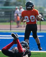 Langley Broncos vs Royal City Hyacks Atom Golden Helmet Tournament