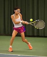 March 8, 2015, Netherlands, Rotterdam, TC Victoria, NOJK, Gigi Sy-A-Foek (NED)<br /> Photo: Tennisimages/Henk Koster