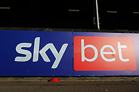 Sky Bet signage during Leyton Orient vs Forest Green Rovers, Sky Bet EFL League 2 Football at The Breyer Group Stadium on 23rd January 2021