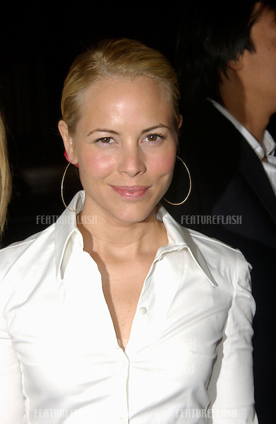 Actress MARIA BELLO at the Los Angeles premiere of Confidence..April 15, 2003.