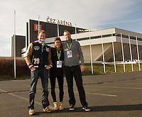 01-02-14,Czech Republic, Ostrava, Cez Arena, Davis Cup Czech Republic vs Netherlands, Team Tennis.nl<br /> Photo: Henk Koster