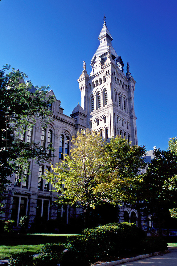 Buffalo, New York, NY, Erie County Courthouse in downtown Buffalo.