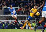 26.12.2019 Rangers v Kilmarnock: Ryan Jack shoots past Alan Power