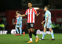 Ollie Watkins of Brentford during Brentford vs Leeds United, Sky Bet EFL Championship Football at Griffin Park on 11th February 2020