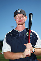 Pavin Smith (47) of the Hillsboro Hops poses for a photo before a game against the Spokane Indians at Ron Tonkin Field on July 22, 2017 in Hillsboro, Oregon. Spokane defeated Hillsboro, 11-4. (Larry Goren/Four Seam Images)