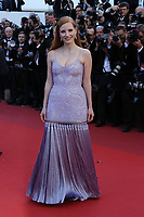 JESSICA CHASTAIN Okja Red Carpet Arrivals - The 70th Annual Cannes Film Festival<br /> CANNES, FRANCE - MAY 19: attends the 'Okja' screening during the 70th annual Cannes Film Festival at Palais des Festivals on May 19, 2017 in Cannes
