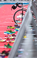 17 SEP 2011 - LA BAULE, FRA - Women's French Grand Prix Series at the Triathlon Audencia in La Baule, France .(PHOTO (C) NIGEL FARROW)
