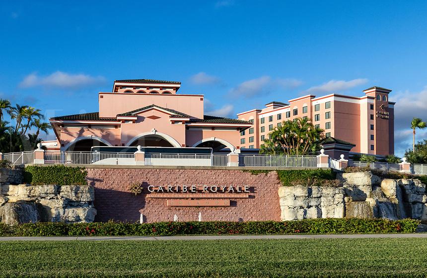 Caribe Royale Suites and Convention Center, Orlando, Florida, USA.