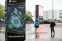 The ultimate test sign and ground map during India vs New Zealand, ICC World Test Championship Final Cricket at The Hampshire Bowl on 18th June 2021